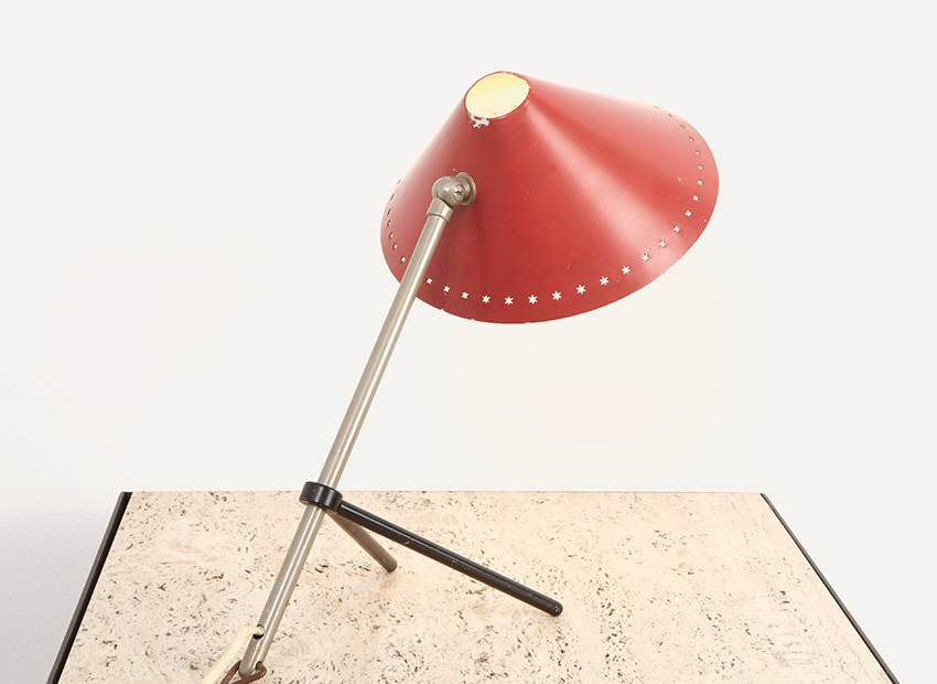 SOLD H. Busquet Pinocchio Table Lamp Hala 1955