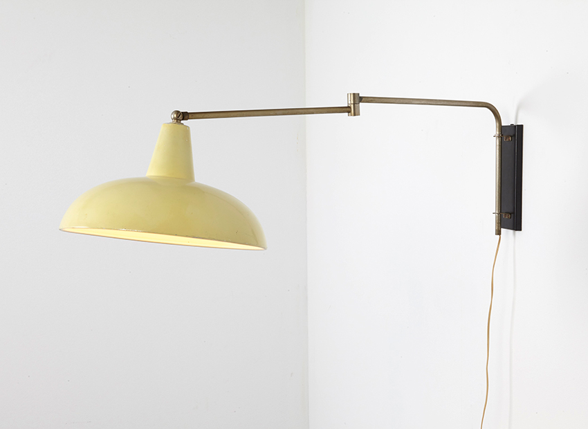 SOLD Dutch Wall Lamp 1950s