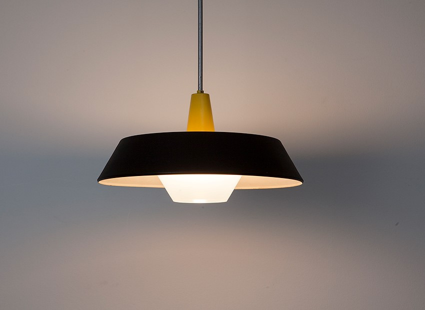 SOLD Hiemstra Hanging Lamp Philips 1960s
