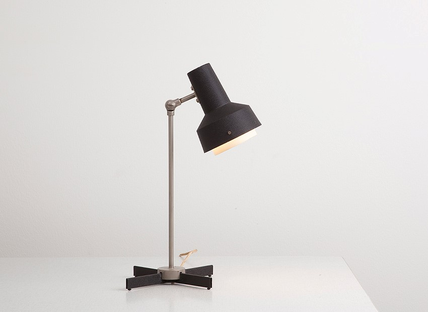 SOLD Hiemstra Table Lamp Dutch 60s