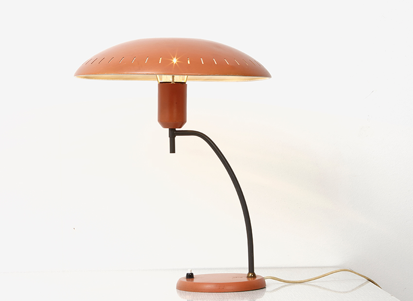 SOLD Louis Kalff Junior Table Lamp Philips 1950s