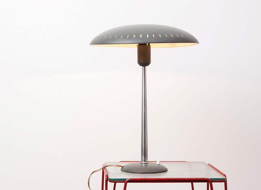 SOLD Louis C. Kalff Table Lamp Philips 50s