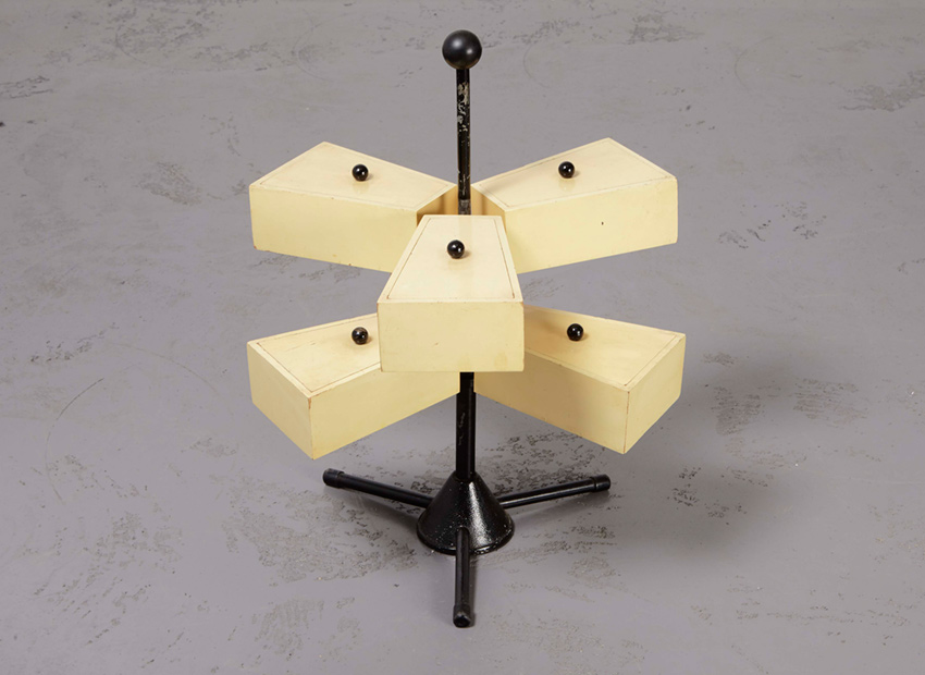 Modernist Sewing Stand Dutch 1950s