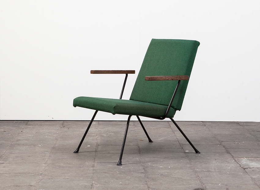 SOLD A.R.Cordemeyer 1409 EasyChair Gispen 50s