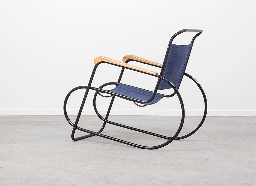 SOLD Auping Tubular Easy Chair Dutch 30s