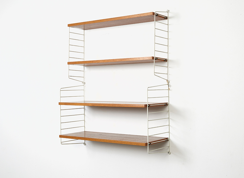 SOLD Nisse String Wall Unit 1949