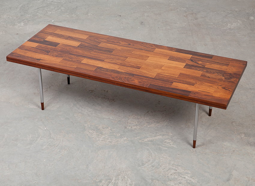 Studio 1 fristho rosewood coffee table 60s for 60s coffee table