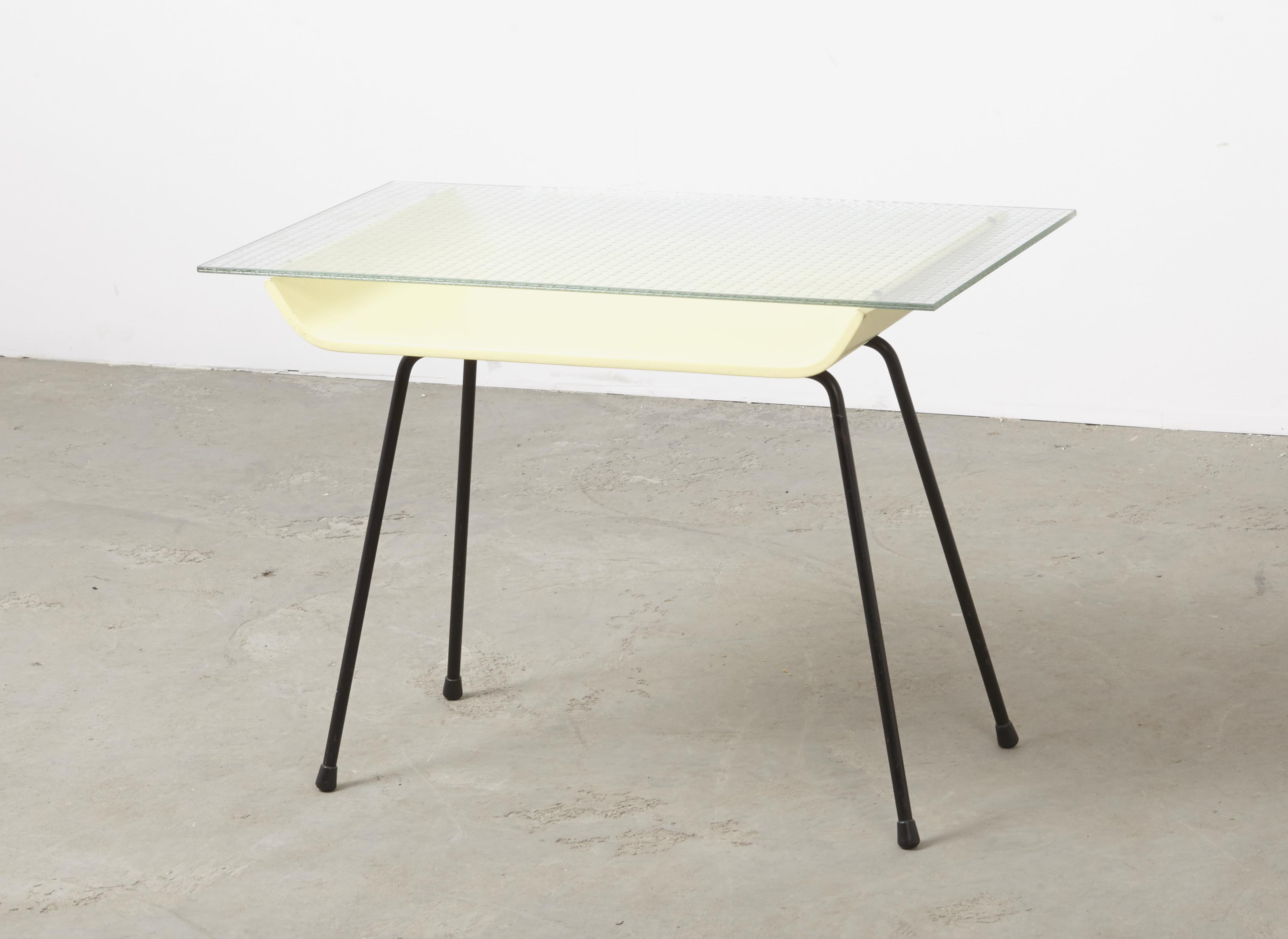 SOLD W.H.Gispen Side Table 507 Kembo 1957