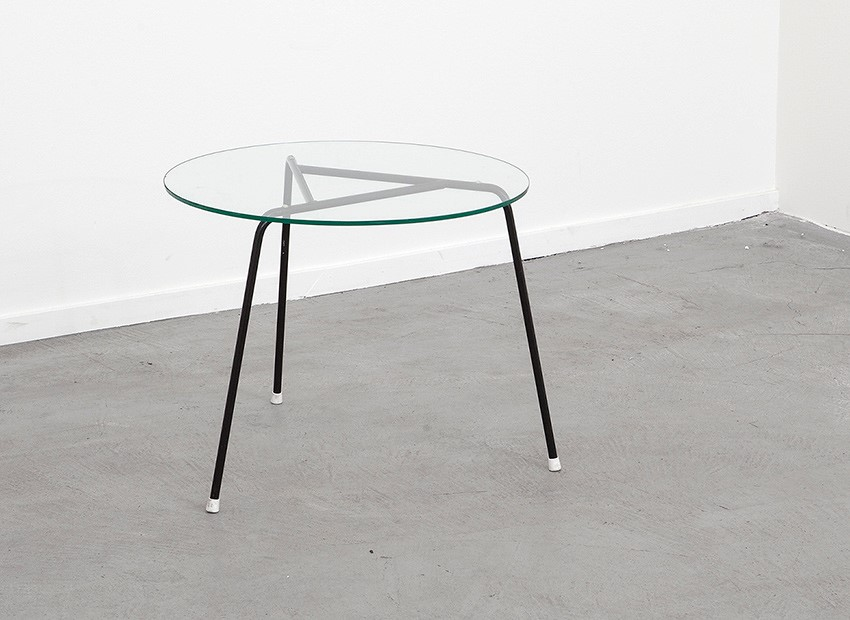 SOLD W.H. Gispen Triangle Coffee Table Kembo 50s