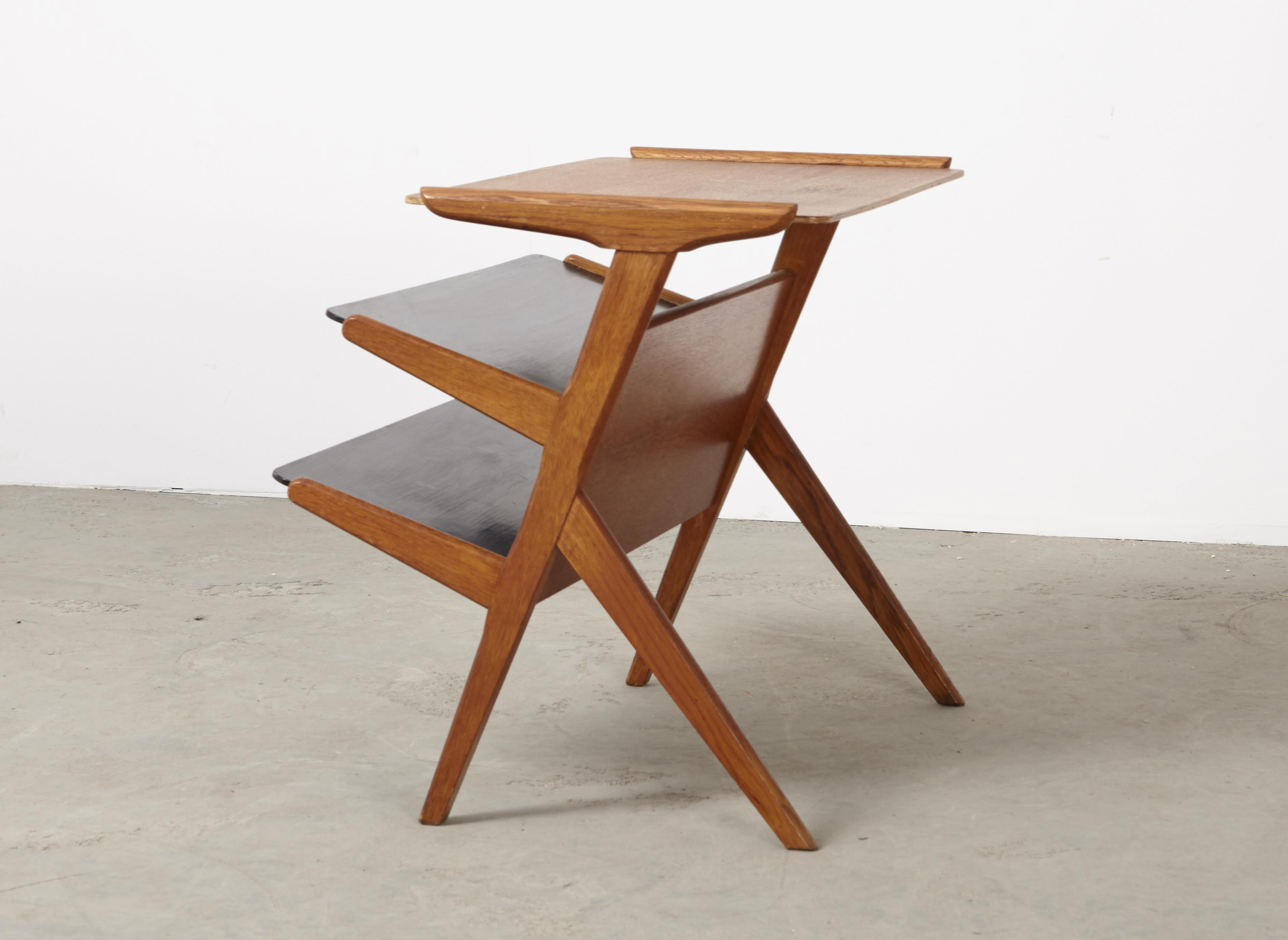 SOLD Wim den Boon (Attrib.) Groep & Side Table 1948