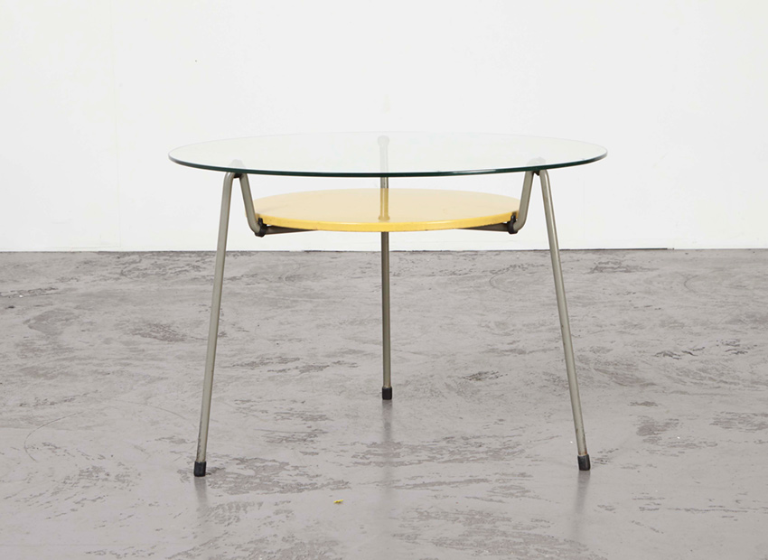 SOLD Wim Rietveld 535 Coffee Table Gispen 1953